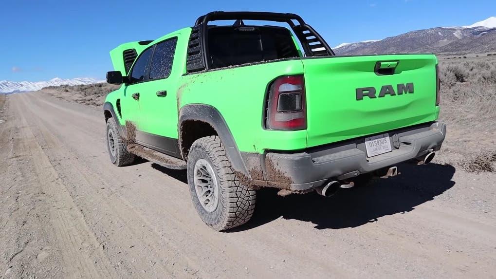 Ram 1500 TRX 3200 km