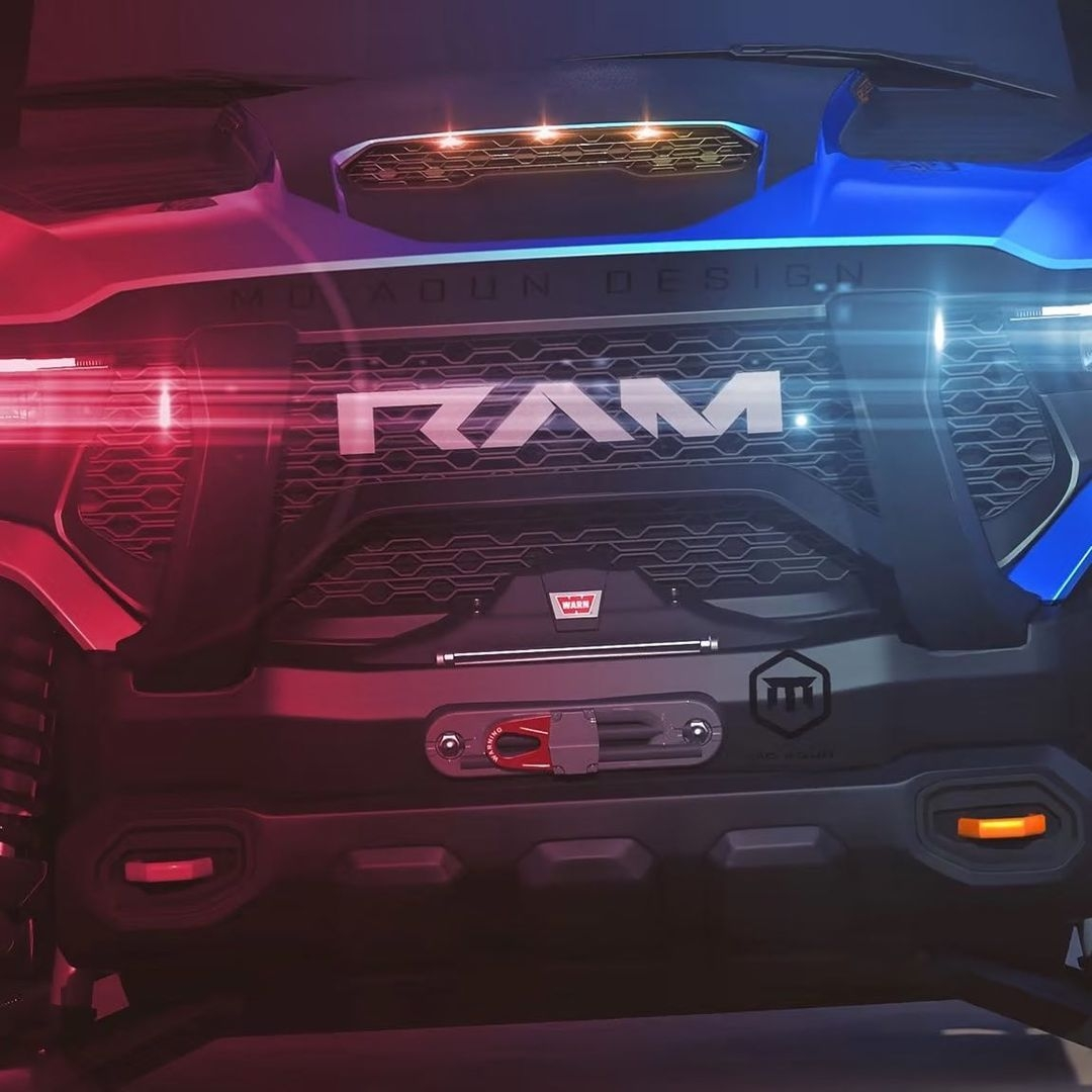 Ram 1500 TRX render