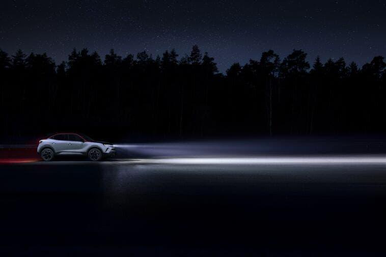 Vauxhall Mokka e Mokka-e fari IntelliLux LED Matrix