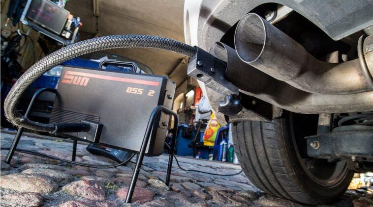 Analisi gas di scarico Auto con Fap
