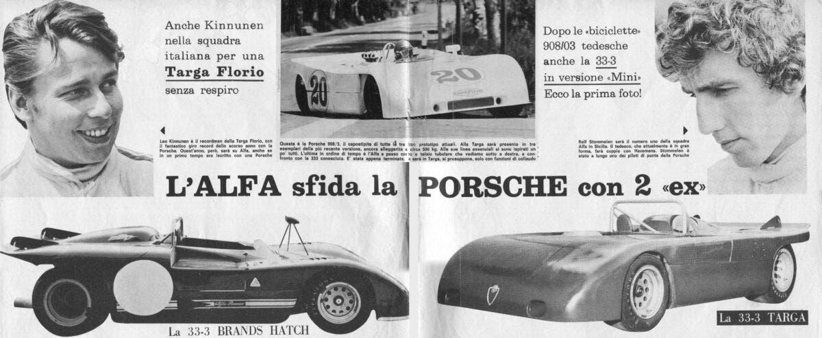 Autosprint Targa Florio 1971