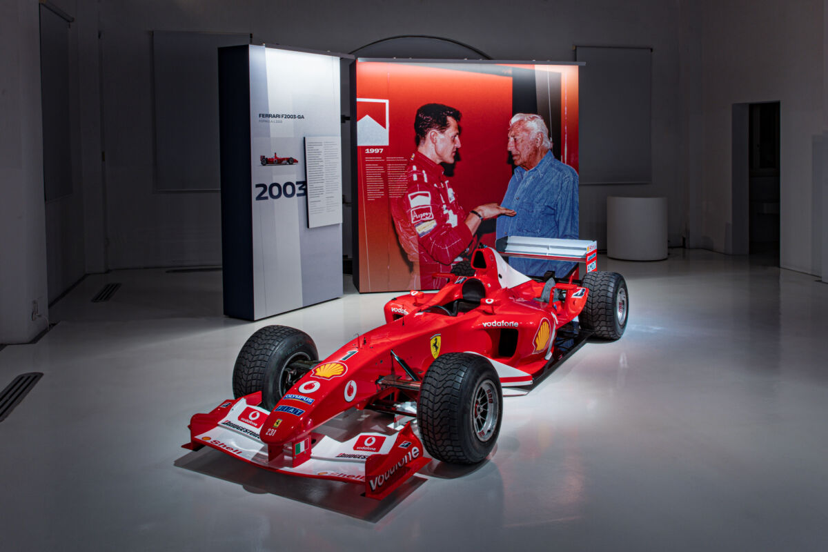 Gianni Agnelli Mostra Ferrari