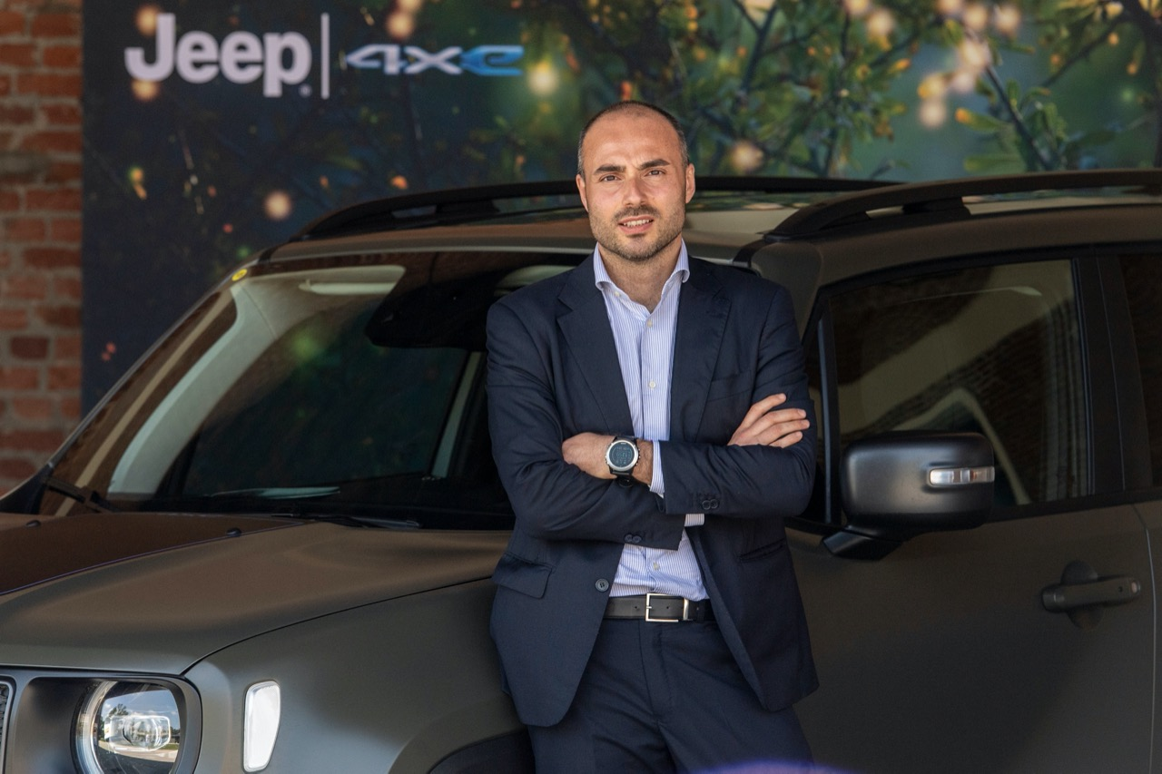 Alessandro Grosso country manager Jeep Italia