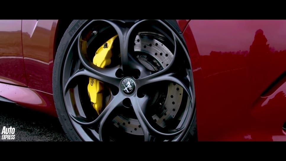 Alfa Romeo Giulia Quadrifoglio vs BMW M3 Competition altro confronto