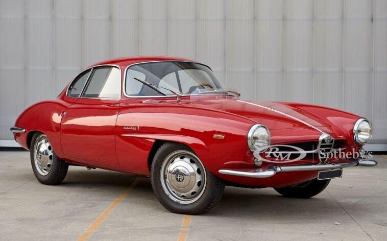 Alfa Romeo Giulia Sprint Speciale 1964 asta RM Sotheby's