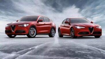 Alfa Romeo Giulia e Stelvio Rosso Edizione