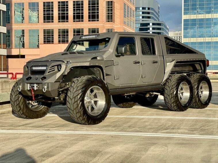 Apocalypse Hellfire 6x6 Jeep