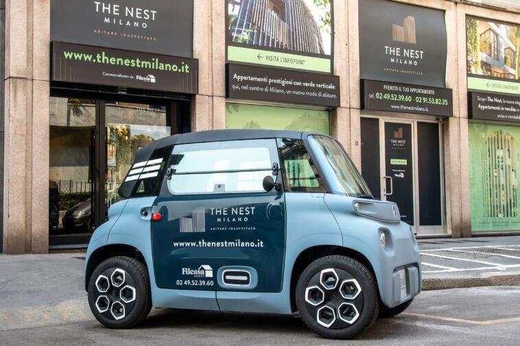 Citroën Ami car sharing condominiale The Nest