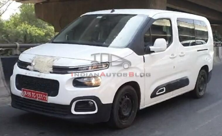 Citroën Berlingo prototipo test India