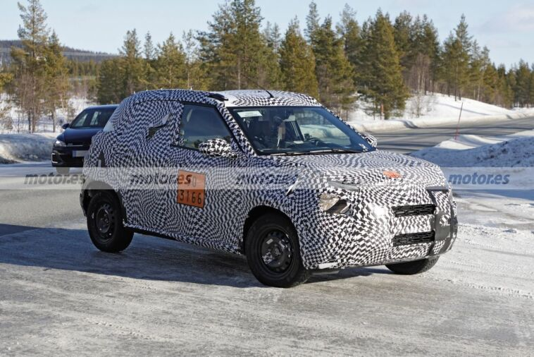 Citroën C21 foto spia test invernale