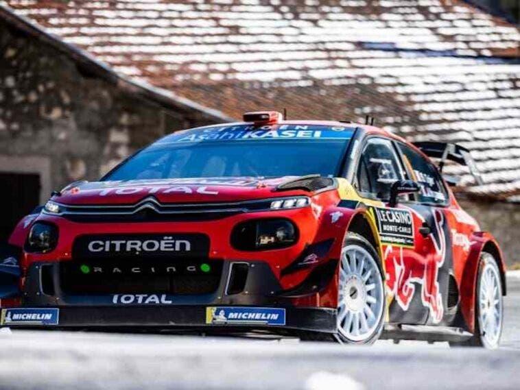 Citroën C3 WRC 2019 Sébastien Ogier