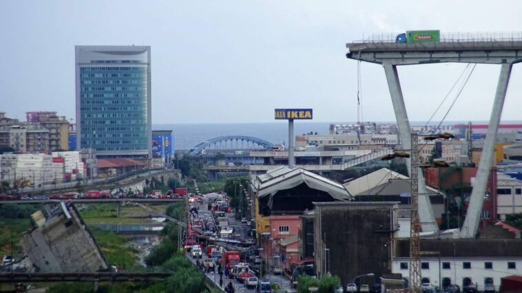 Crollo del Ponte di Genova