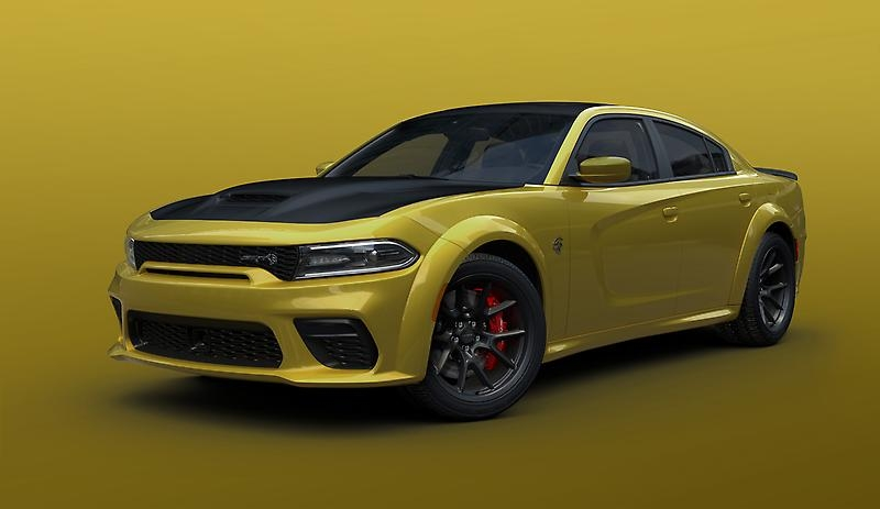Dodge Charger 2021 Gold Rush