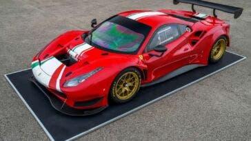 Ferrari 488 GT Modificata Pirelli P Zero DHE