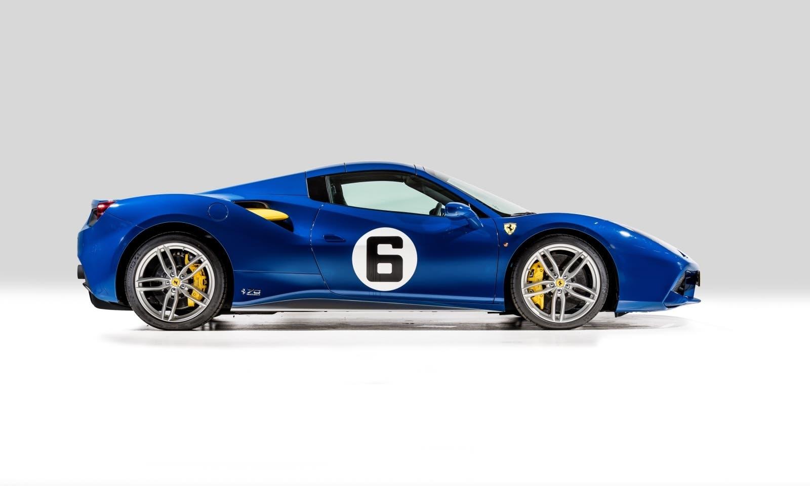 Ferrari 488 Spider 70th Penske-Sunoco in vendita