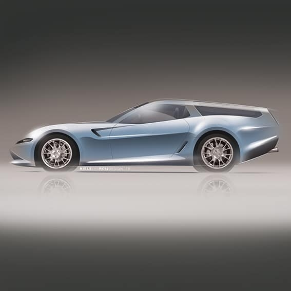 Ferrari Daytona Shooting Brake Hommage nuovi render