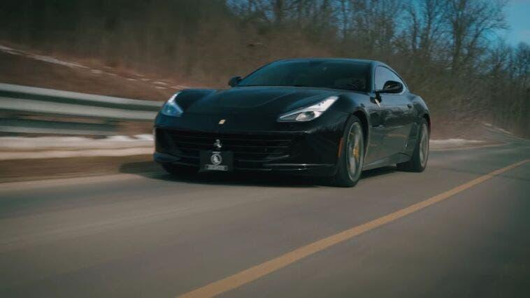 Ferrari GTC4Lusso Throttle House