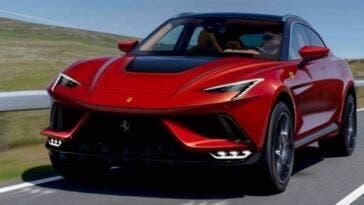 Ferrari Purosangue nuovo render