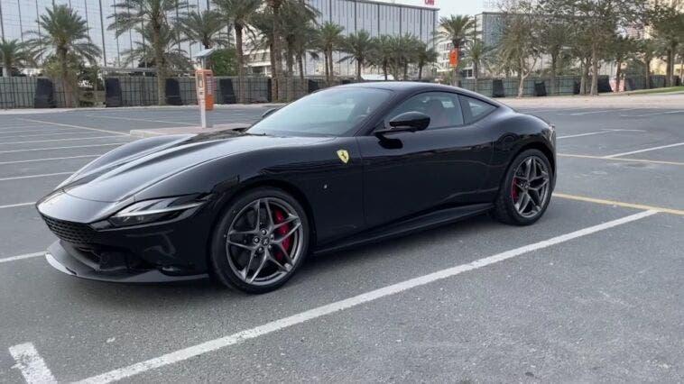 Ferrari Roma Supercar Blondie