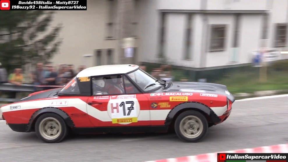 Fiat 124 Abarth Rally cronoscolate