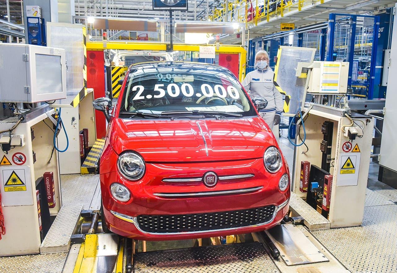 Fiat 500 2,5 milioni esemplari Tychy
