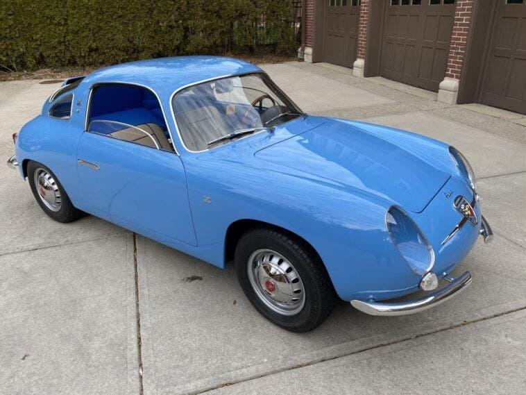 Fiat-Abarth 750 Record Monza Zagato 1959 asta