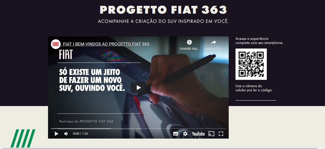 Fiat webseries nuovo SUV Brasile
