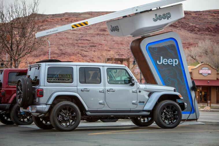 Jeep 4xe Charging Network