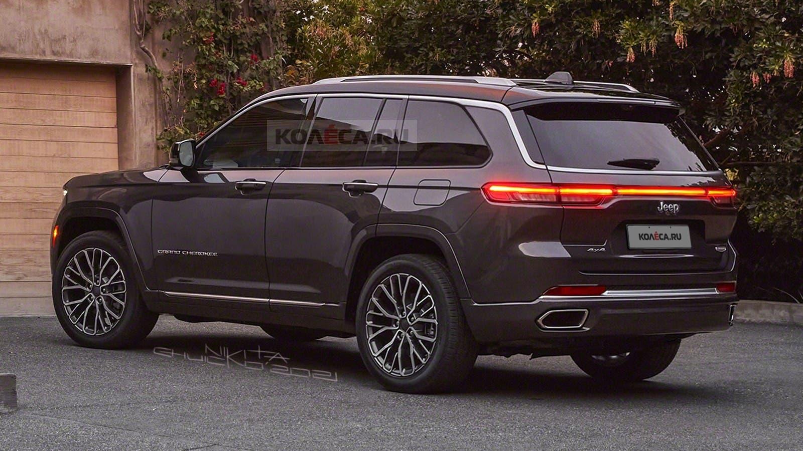 Jeep Grand Cherokee 2022 due file render