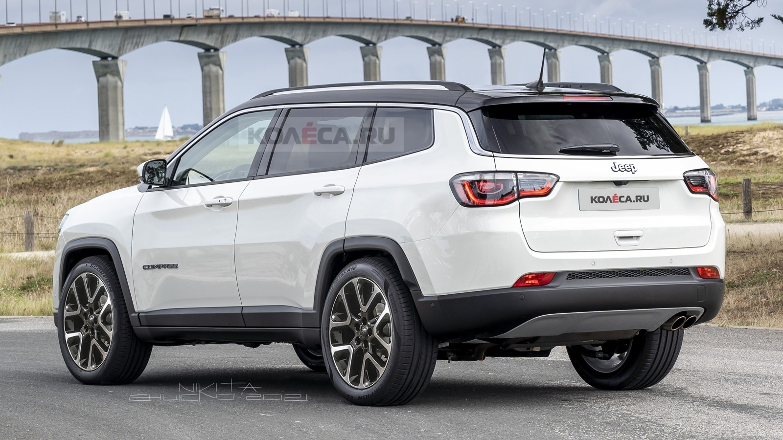 Jeep Grand Compass 2022 render