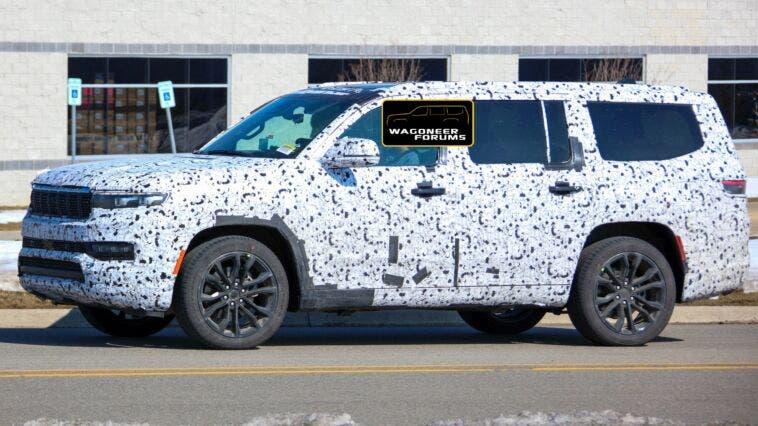 Jeep Grand Wagoneer 2022 prototipo nuovi dettagli