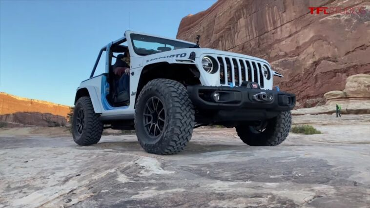 Jeep Magneto test off-road