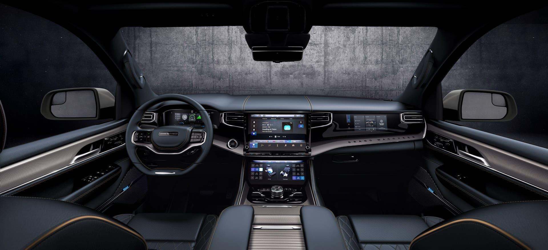 Jeep Wagoneer e Grand Wagoneer 2022