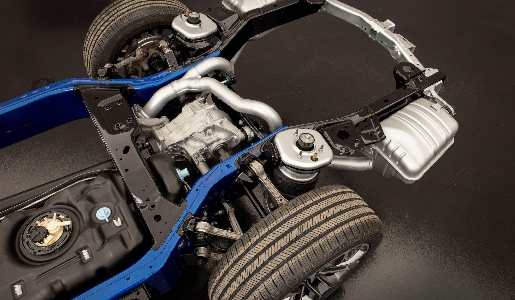 Jeep Wagoneer e Grand Wagoneer 2022 architettura body-on-frame