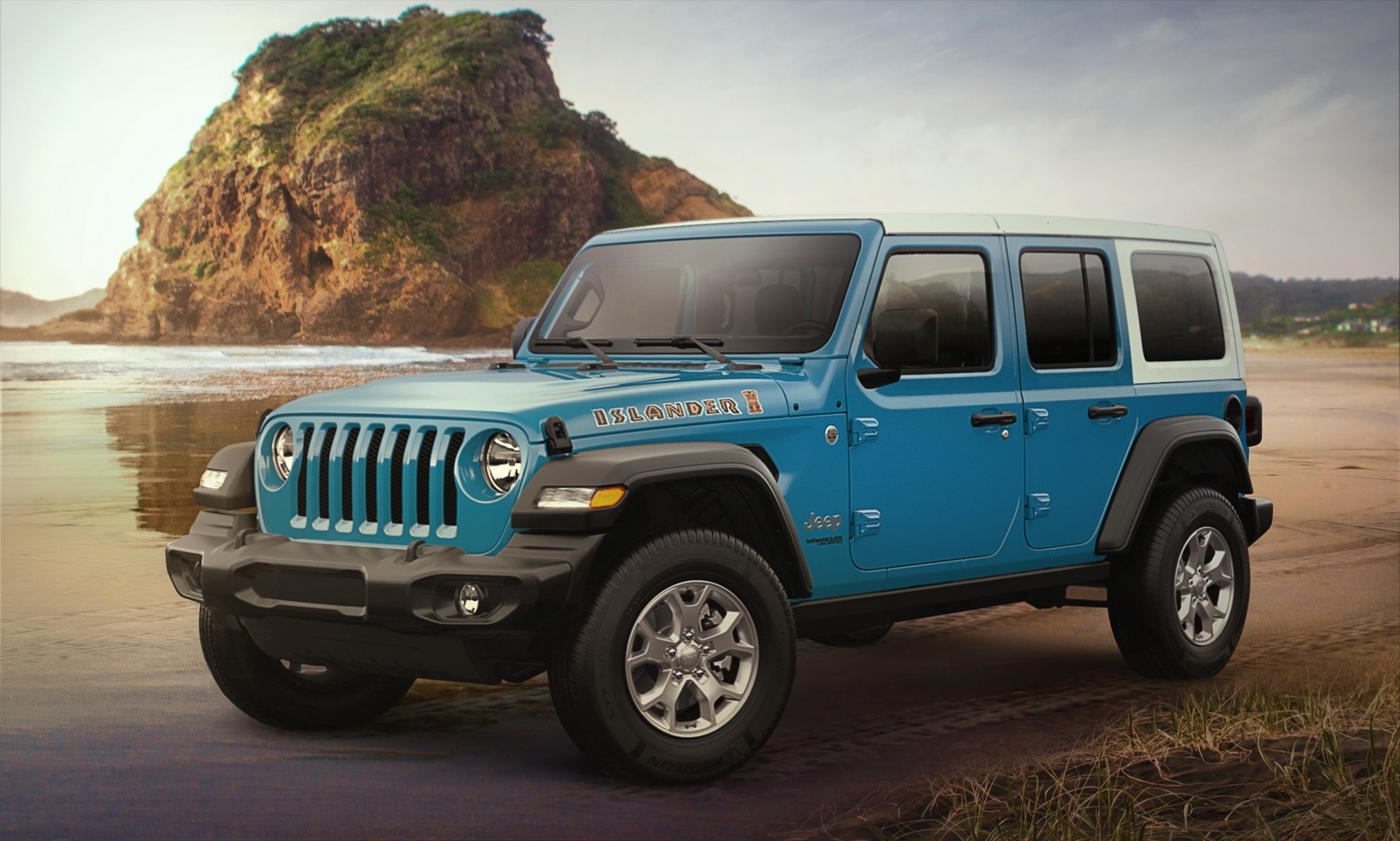 Jeep Wrangler e Renegade Islander 2021
