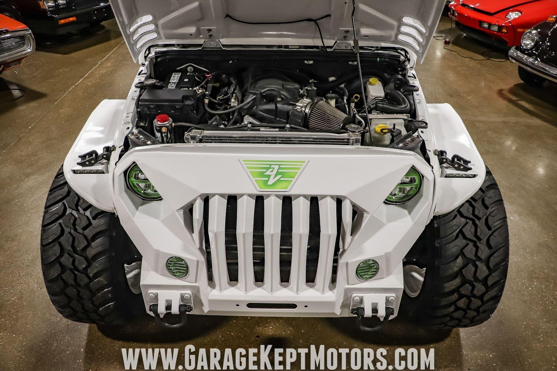 Jeep Wrangler Sahara Unlimited 2013 Hemi V8