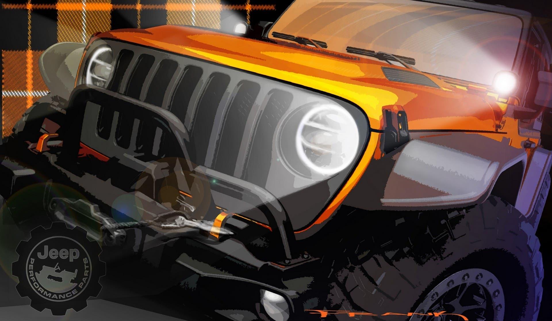 Jeep Wrangler concept Easter Jeep Safari 2021