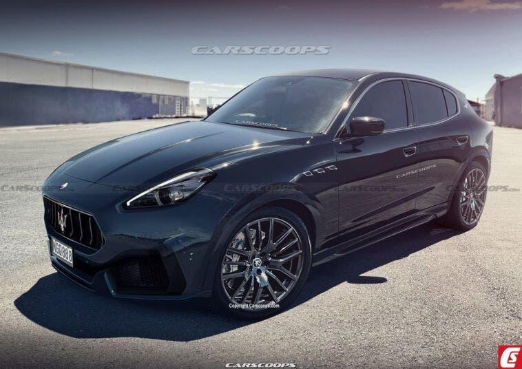 Maserati Grecale ultimo render