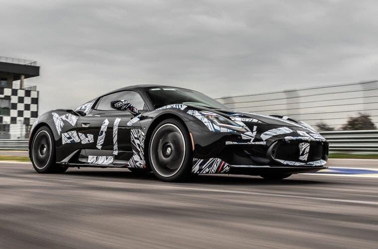 Maserati MC20 Autodromo di Modena