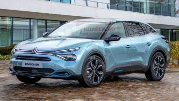 Nuova Citroën C5 render