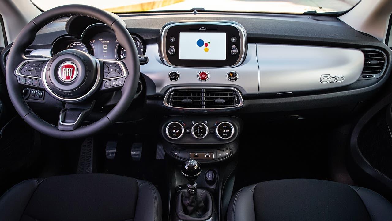 Nuova Fiat 500 Hey Google gamma