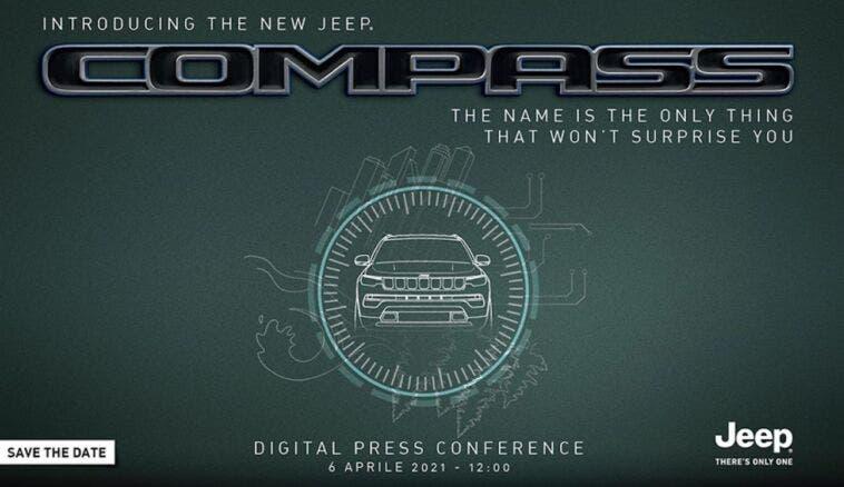 Nuova Jeep Compass Europa teaser