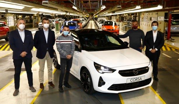 Nuova Opel Corsa esemplare 300.000