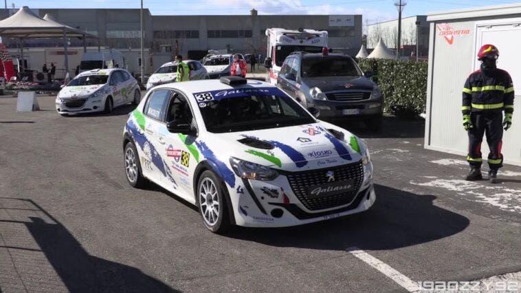 Nuova Peugeot 208 Rally4 Castelletto