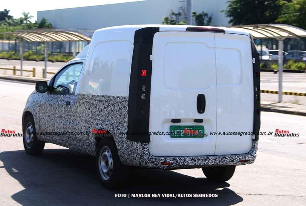 Nuovo Fiat Fiorino prototipo Betim