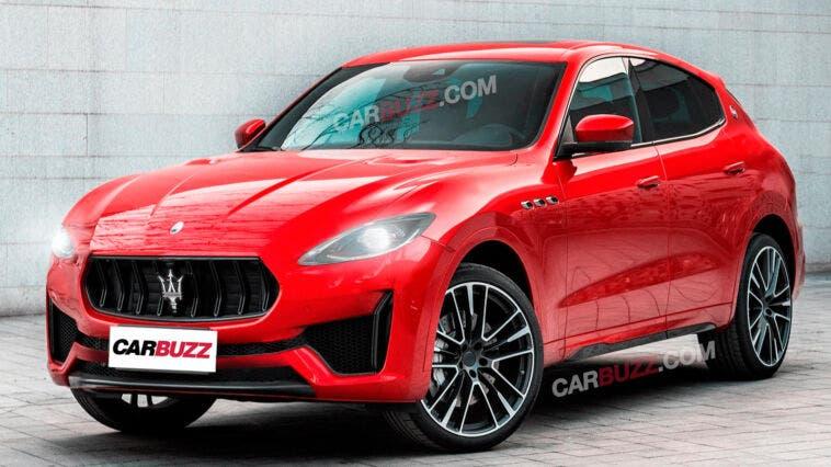 Nuovo Maserati Grecale render CarBuzz