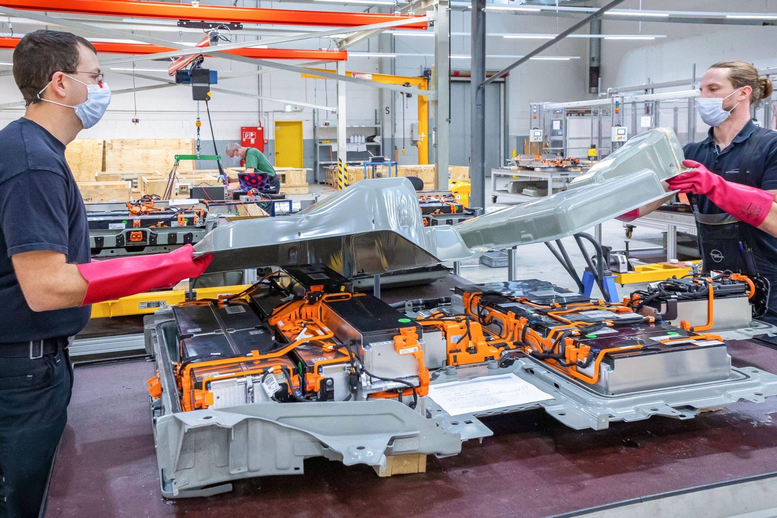 Opel centro batterie Rüsselsheim