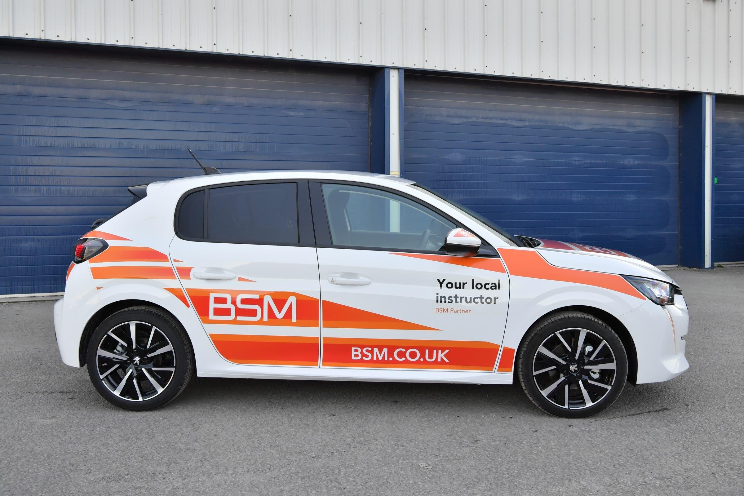 Peugeot 208 British School of Motoring