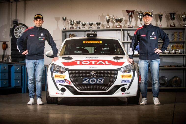 Peugeot 208 Rally 4 Andrea Nucita