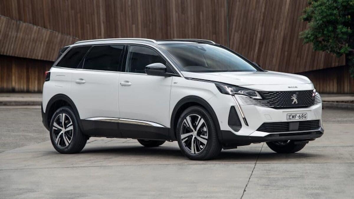 Peugeot 5008 2021 Australie